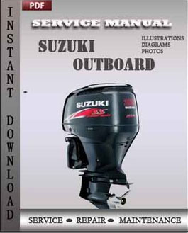 Suzuki outboard df90 df100 df115 df140 2000 2001 2002 for Suzuki outboard motor repair