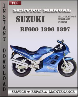 Suzuki RF600 1996 1997 manual