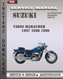 Suzuki VZ800 Marauder 1997 1998 1999 manual suzuki vz800 manual 28 images suzuki vz800 vz800 marauder 2004 2001 Yamaha at readyjetset.co