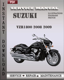 Suzuki VZR1800 2008 2009 manual