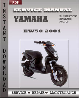 Yamaha EW50 2001 manual