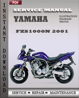 yamaha fzs1000n 2001 service manual pdf repair service. Black Bedroom Furniture Sets. Home Design Ideas