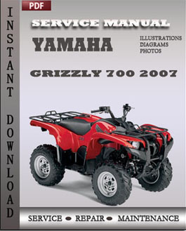 Yamaha Grizzly 700 2007 manual