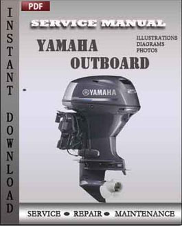 Yamaha outboard t9 9w f9 9w workshop repair manual for Yamaha outboard service