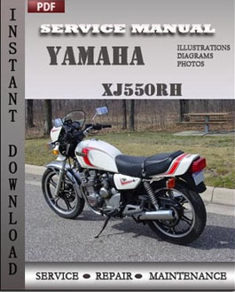yamaha xj550rh service repair manual instant download. Black Bedroom Furniture Sets. Home Design Ideas