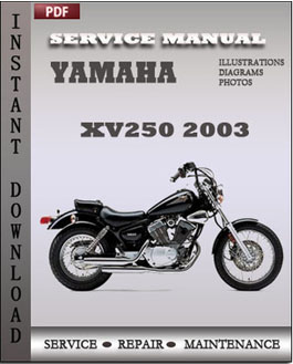 yamaha xv250 2003 free download pdf repair service. Black Bedroom Furniture Sets. Home Design Ideas