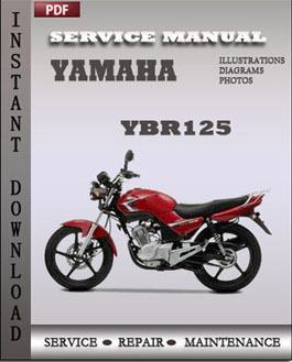 Yamaha YBR125 service repair manual | Global Service Manuals
