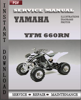 Yamaha YFM 660RN manual
