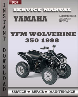 yamaha raptor 350 service manual download