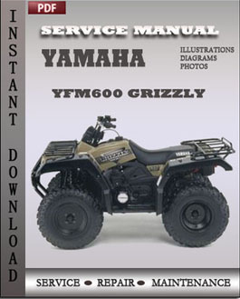 yamaha yfm600 grizzly factory manual download global. Black Bedroom Furniture Sets. Home Design Ideas