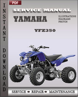 Yamaha YFZ350 manual