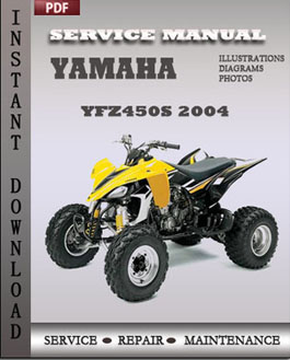 Yamaha YFZ450S 2004 manual