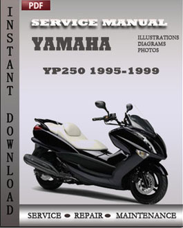 Yamaha YP250 1995-1999 manual