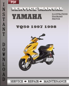 yamaha yq50 1997 1998 service repair manual repair. Black Bedroom Furniture Sets. Home Design Ideas