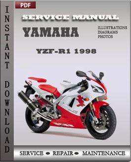 Service Yamaha YZF-R1 1998 are the same workshop manuals used by