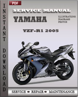 yamaha yzf r1 2005 service repair manual repair service. Black Bedroom Furniture Sets. Home Design Ideas