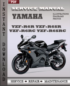 yamaha yzf r6r yzf r6sr yzf r6rc yzf r6src service repair. Black Bedroom Furniture Sets. Home Design Ideas