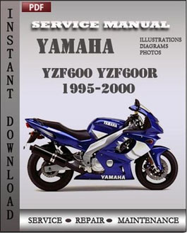 Yamaha YZF600 YZF600R 1995 2000 manual yamaha yzf600 yzf600r 1995 2000 factory manual download repair 2000 yamaha yzf600r wiring diagram at mifinder.co