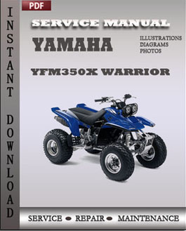 yamaha warrior wiring harness yamaha yfm350x warrior repair manual download | repair ... yamaha 350 warrior wiring troubleshooter