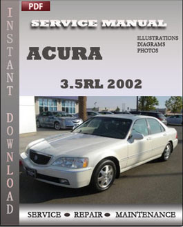 Acura 3.5RL 2002 manual