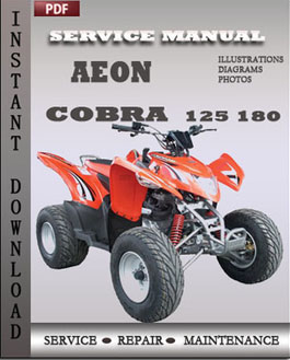 Aeon Cobra 125 180 manual