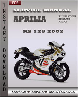 aprilia rs 125 2002 workshop pdf service repair manual workshop rh workshopservicerepaironline wordpress com Honda CBR Honda Rc125