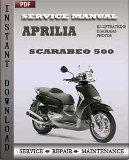 aprilia scarabeo 500 service manual download. Black Bedroom Furniture Sets. Home Design Ideas