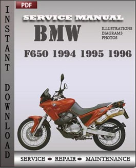 bmw f650 1994 1995 1996 service repair manual instant. Black Bedroom Furniture Sets. Home Design Ideas