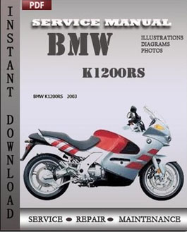 bmw k1200rs service maintenance manual. Black Bedroom Furniture Sets. Home Design Ideas