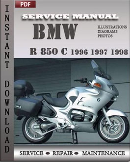 bmw r 850 c 1996 1997 1998 service repair manual instant. Black Bedroom Furniture Sets. Home Design Ideas