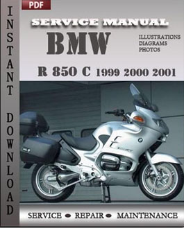 bmw r 850 c 1999 2000 2001 workshop factory service repair. Black Bedroom Furniture Sets. Home Design Ideas