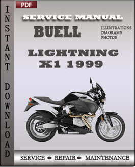 Buell LIghtning X1 1999 manual