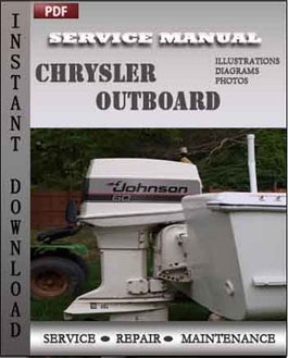 chrysler repair service manual pdf chrysler outboard 70 75 80 90 105 115 120 130 135 150 hp service manual