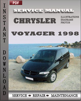 Chrysler Voyager 1998 manual