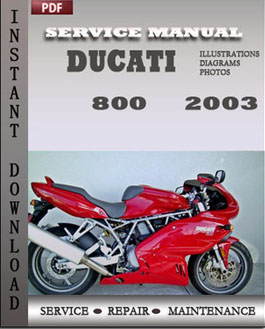 ducati 800 2003 service repair. Black Bedroom Furniture Sets. Home Design Ideas