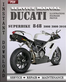 ducati superbike 848 2008 2009 2010 service manual. Black Bedroom Furniture Sets. Home Design Ideas
