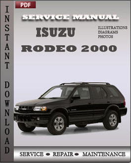 28 2000 isuzu rodeo service manual 25419 2000 isuzu. Black Bedroom Furniture Sets. Home Design Ideas