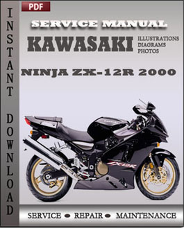 Kawasaki Ninja ZX-12R 2000 manual