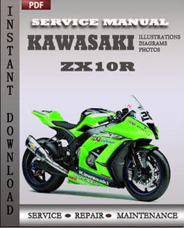 Kawasaki ZX10R manual