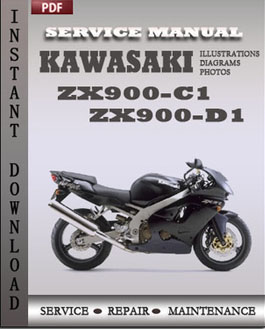 Kawasaki ZX900-C1 ZX900-D1 manual