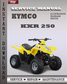 kymco kxr 250 service manual download repair service. Black Bedroom Furniture Sets. Home Design Ideas