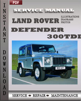 Land Rover Defender 300Tdi manual