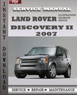 Land Rover Discovery 2 2007 manual