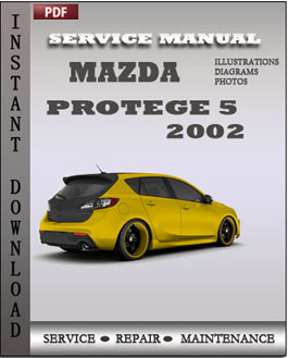 mazda protege 5 2002 service manual download repair. Black Bedroom Furniture Sets. Home Design Ideas