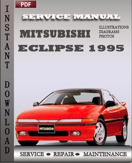 Mitsubishi Eclipse 1995 manual