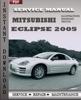 Mitsubishi Eclipse 2005 manual