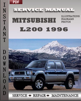 Mitsubishi L200 1996 manual