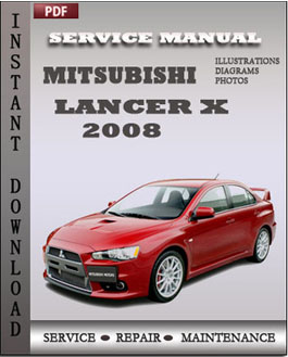 2008 mitsubishi lancer service manual online user manual u2022 rh pandadigital co 2008 mitsubishi lancer repair manual pdf 2008 mitsubishi lancer repair manual pdf
