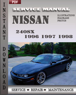 Nissan 240SX 1996 1997 1998 manual