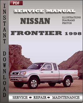 Nissan Frontier 1998 manual